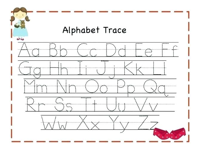 Abc Tracing Worksheets Full Size Of Preschool Alphabet Tracing