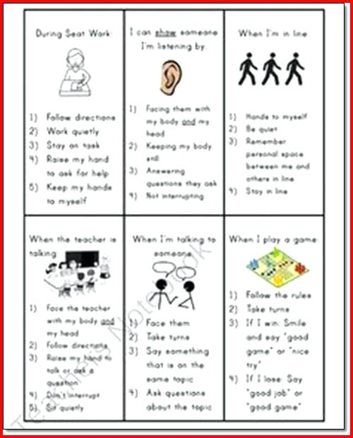 Adhd Therapy Worksheets For Kids