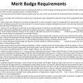 Personal Fitness Merit Badge Worksheets