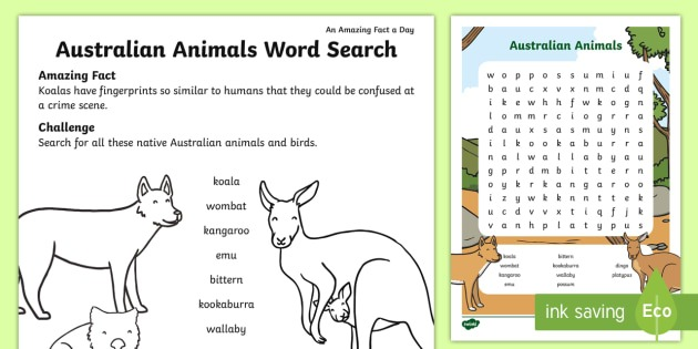 Australian Animals Worksheet Miraculous Entranching Australian