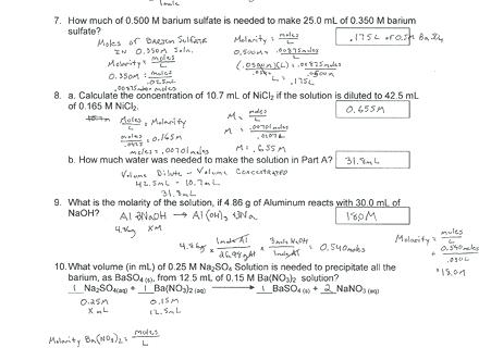 Basic Stoichiometry Worksheet – Coolmathsgames Info