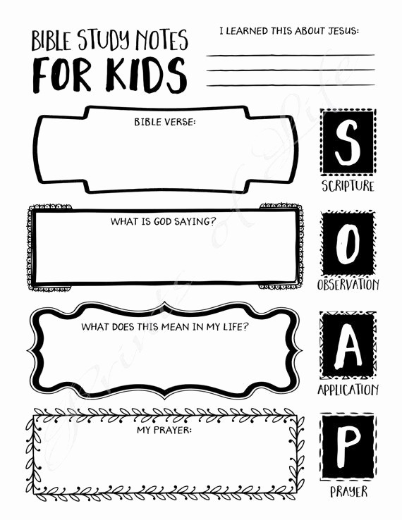 17 Children Bible Study Worksheets – Cgcprojects Org