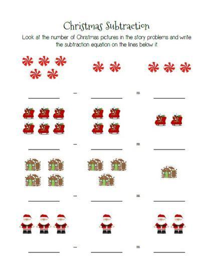 Kindergarten Christmas Math Worksheets – Worksheets Addition Math