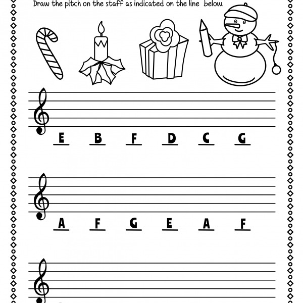 Note Reading Worksheets