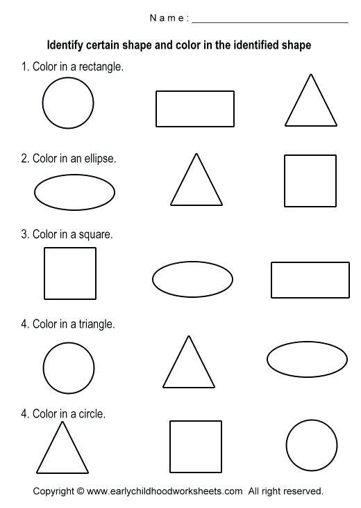 Crescent Shape Worksheets For Preschoolers – Marinaradet Info