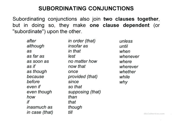 Combining Sentences With Coordinating Conjunctions Worksheets