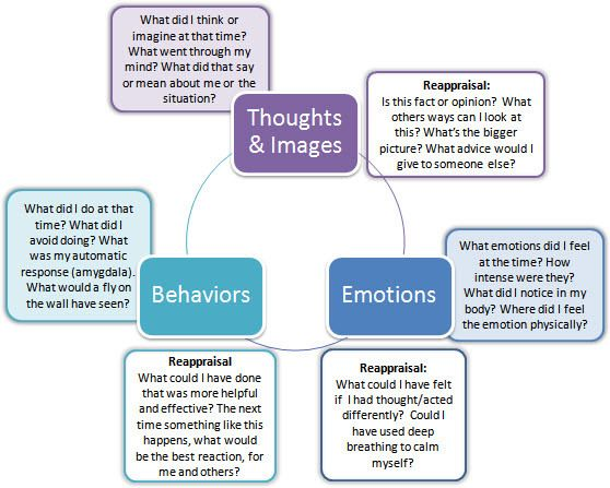 Reappraisal, Thoughts,emotions, Behavior