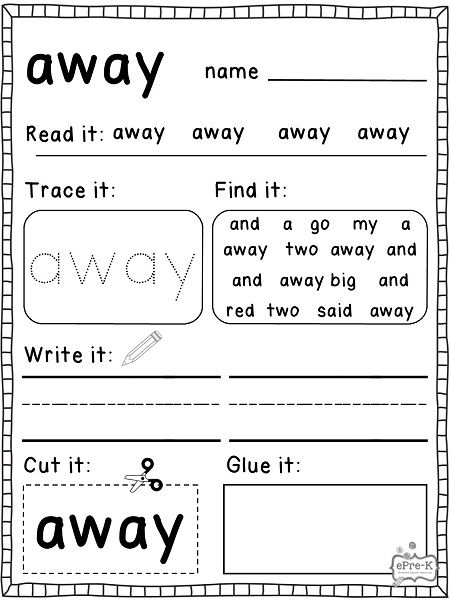 Pin By Kristin Leroy On Sight Words And Reading