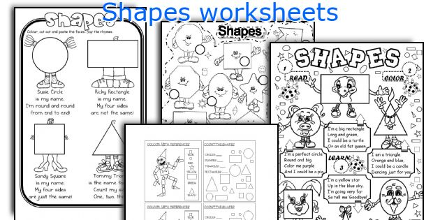 Esl Teaching Worksheets Fresh Shapes Worksheets – Worksheet Template