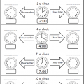 Time Worksheets 3rd Grade