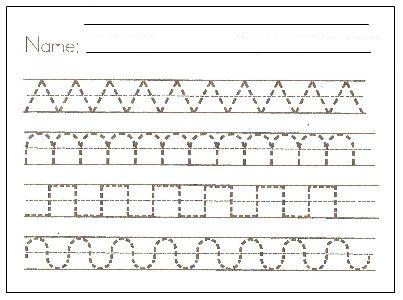 Pre Writing Printables    Imprimibles De Trazo