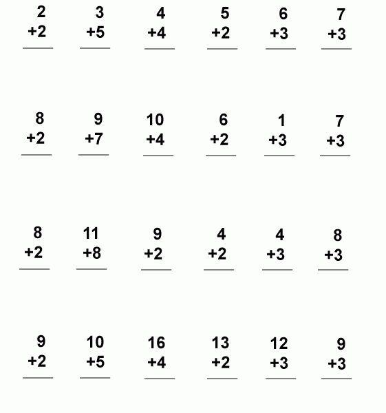 First Grade Math Printable Worksheets 1st Grade Math Worksheets