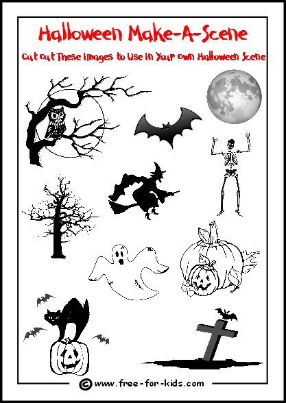 Free Halloween Printable Activities Halloween Printable Activities