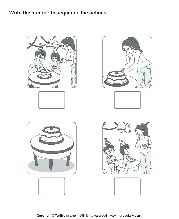 Free Printable Sequencing Worksheets For Kindergarten Sequence Of