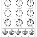 Analogue And Digital Clock Worksheets