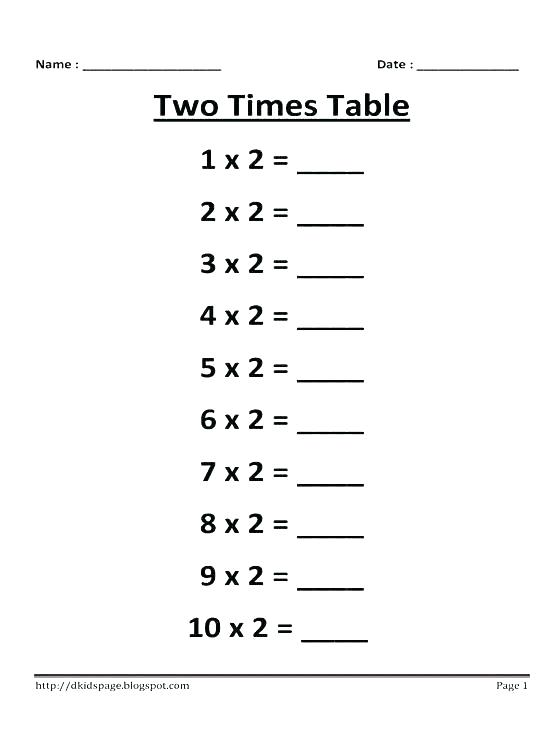 Grade 3 Times Table Free Worksheets Table Photo Stat Free