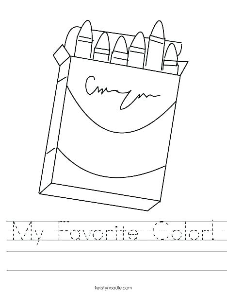 Color Purple Worksheets For K Colour Schoolers Free Colouring