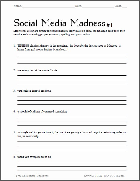Lifetime Health Worksheets – Cgcprojects Org