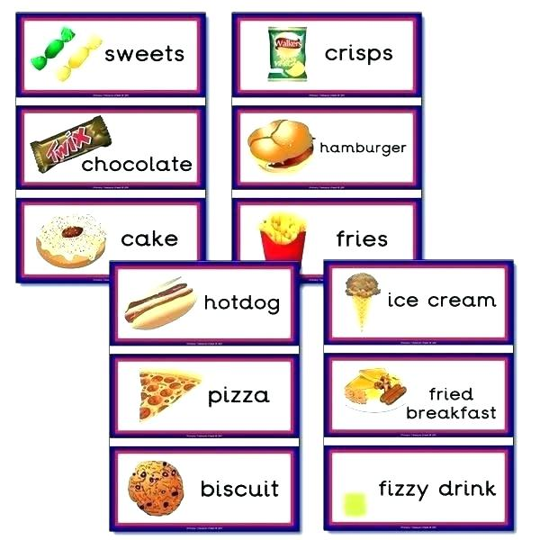 Healthy Foods Posters Worksheets And Activities Unhealthy Food