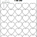 Numbers 1-30 Worksheets