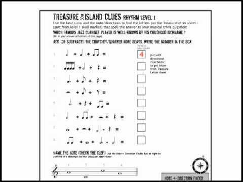 Music Theory Fun Sheets