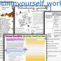 Worksheets Introduce Yourself