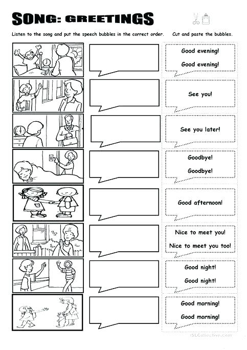 Greeting In Spanish Worksheets – Morningknits Com