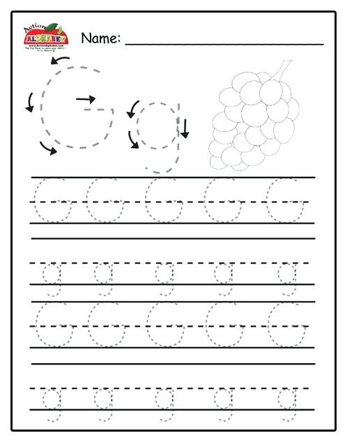 Letter Q Worksheets Preschool Letter Q Worksheets For Preschool