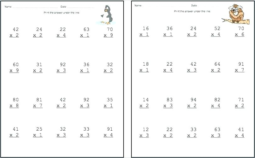 Multiplication Worksheets 0 3 2 1 Multiplication Worksheets Free