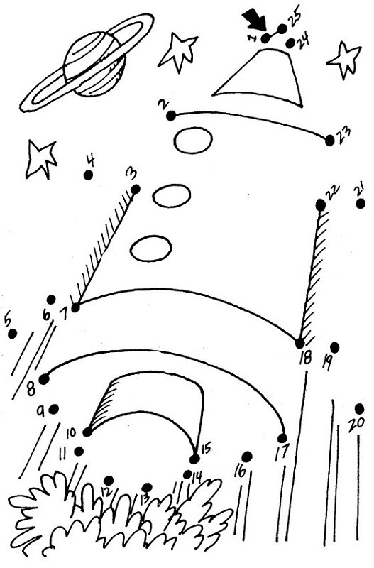 Outer Space Worksheets For First Grade