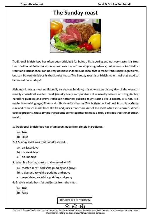 Pancake Recipe Blank Fill Worksheet Free Printable Worksheets Esl