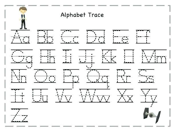 Pre K Alphabet Printable Worksheets