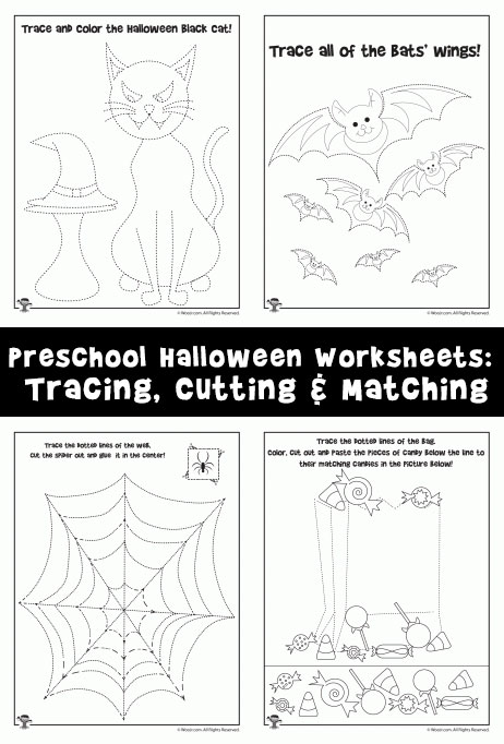 Preschool Worksheets For Halloween