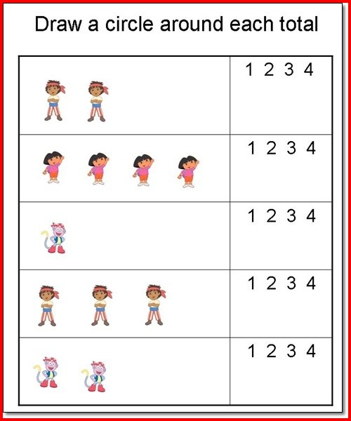Printable Preschool Worksheets Age 3 – Worksheet Template