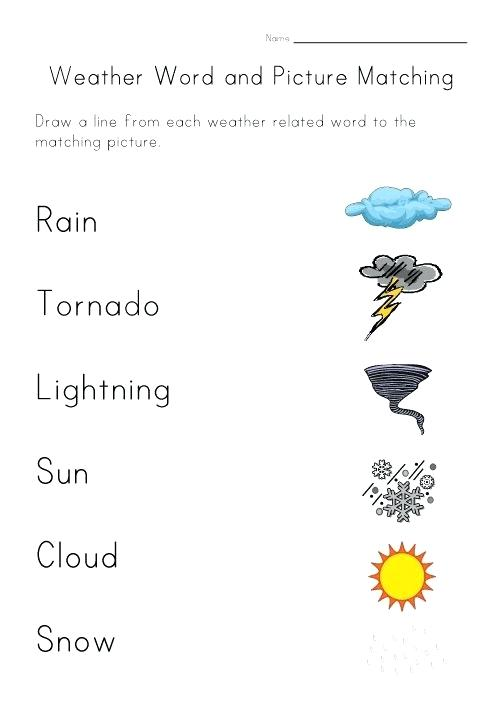 Printable Weather Worksheets For Weather Worksheets Grade 2 – Tagn