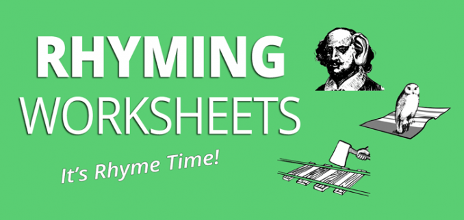 5 Rhyming Worksheets  Can You Guess The Rhyme