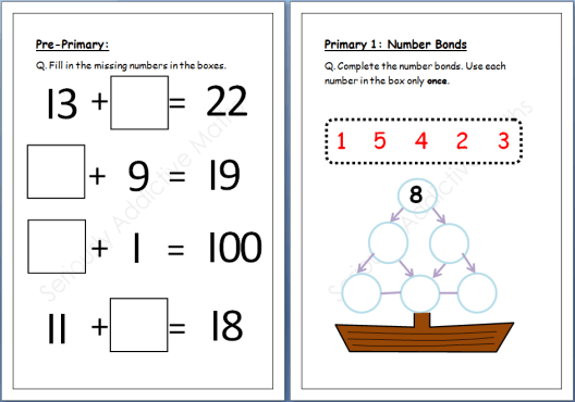 Maths Worksheets For Primary 2