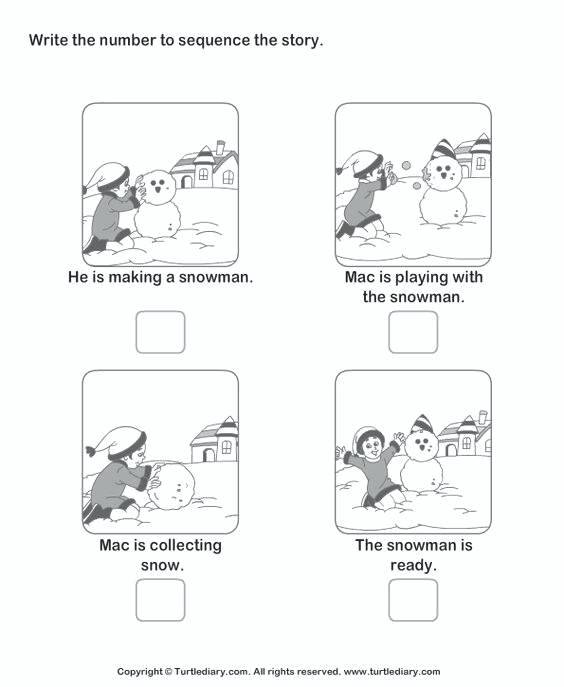 Sequence Of Events Worksheets 2nd Grade Sequencing Worksheets