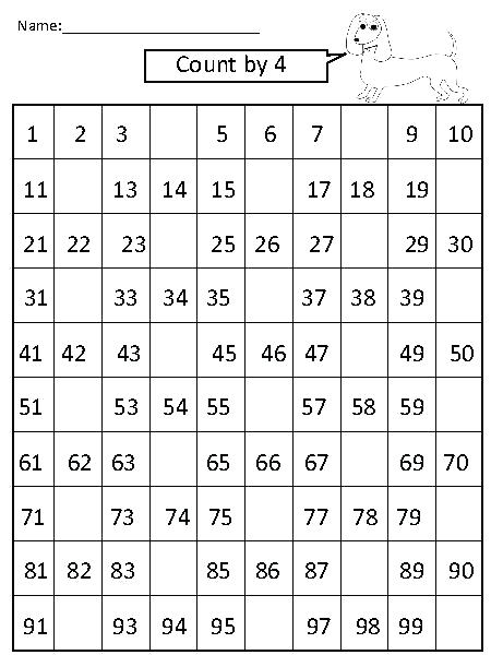 Skip Counting By 2 Worksheets Free Skip Counting Worksheets Skip