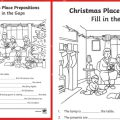 Place Prepositions Worksheets