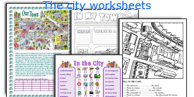 The City Worksheets
