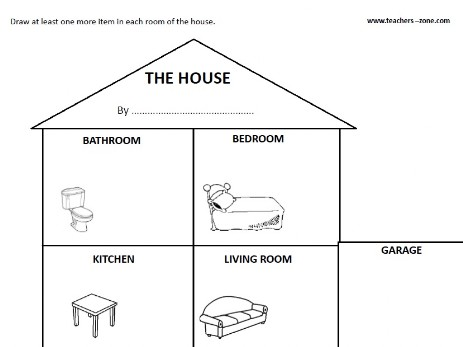 Free House Worksheets