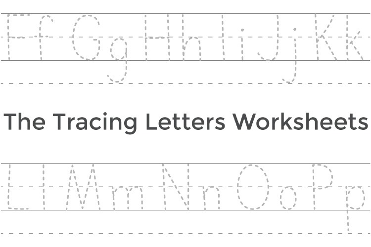 The Tracing Letters Worksheets