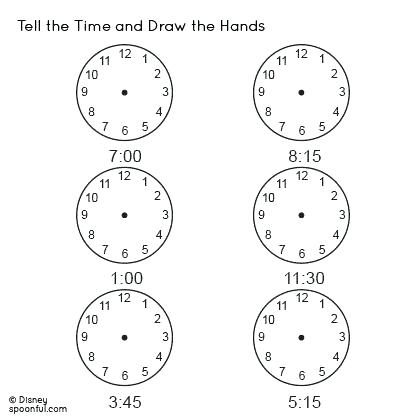 Time Worksheets For Grade 1 Telling Free On Fun 4 Times Tables