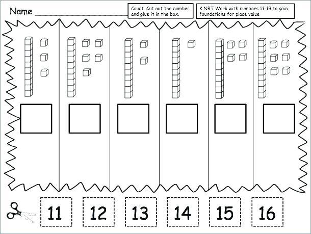 Worksheets For First Grade Place Value Worksheets First Grade Best