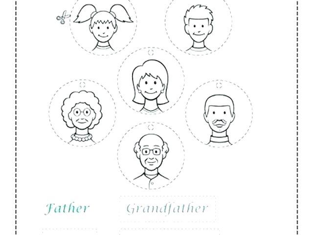 Worksheets Free Printable Family Members Worksheet For