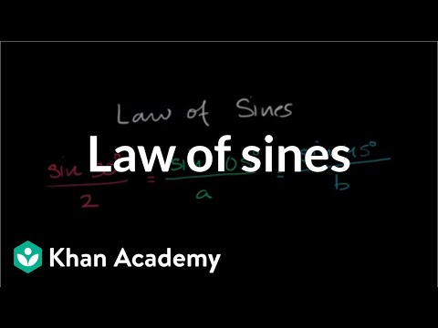 Law Of Sines  Solving For A Side