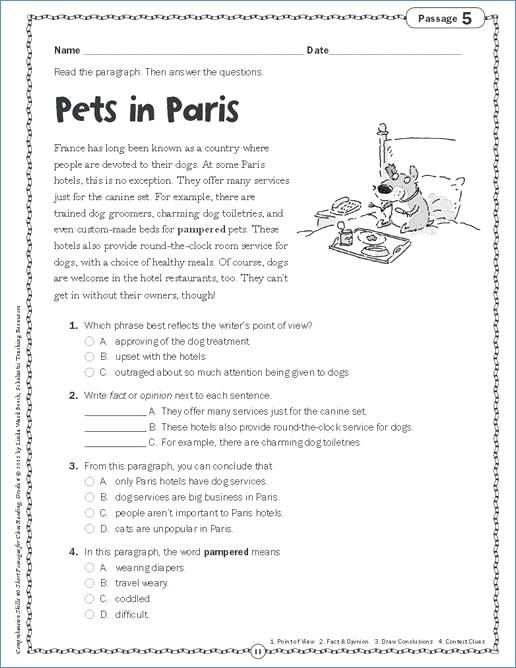 3rd Grade Ela Worksheets Multiplication Worksheets Grade 4 Rd