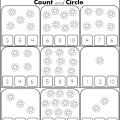 Count And Color Worksheets 1-10