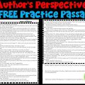 Author's Perspective Worksheets